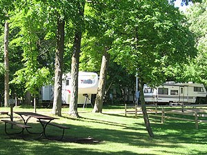 Hickory Lake Campground - Aitkin MN