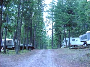 Outback Montana RV/Tent Campground - Bigfork MT
