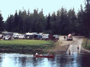Chena River Wayside RV Park Campground - Fairbanks AK