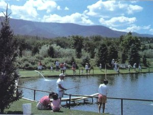 Seeping Springs Trout Lake & RV Park - Ruidoso NM