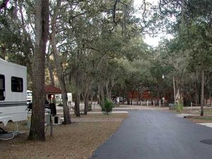 Kelly's RV Park - White Springs FL
