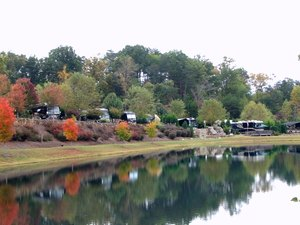 Apple Valley Farm Motorcoach Resort - Lake Lure NC