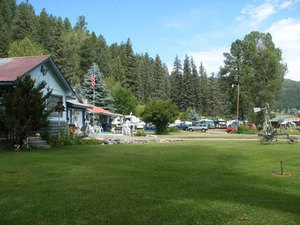 Air Sports from Acres Green RV Park - Pagosa Springs CO