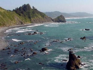 Ireland's Ocean View RV Park - Gold Beach OR