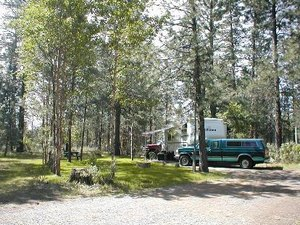 Walts RV Park - Chiloquin OR