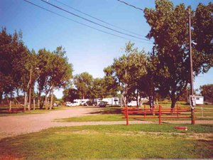 Green Valley Campground - Glendive MT