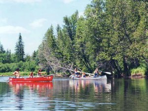 Alcona Canoe Rental & Campground - Glennie MI