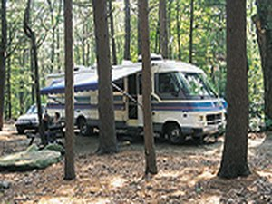 Whispering Pines Campground - Hope Valley RI