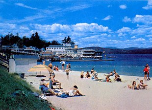 Weirs Beach Tent & Trailer Park - Weirs Beach NH