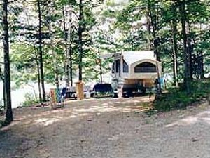 Keyser Pond Campground - Henniker NH