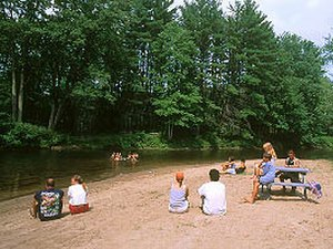 Wadleigh Falls Campground - Lee NH