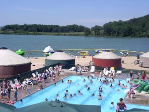 Crystal Lake Campground - Lodi WI
