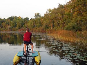 Lake Lenwood Beach & Campground - West Bend WI