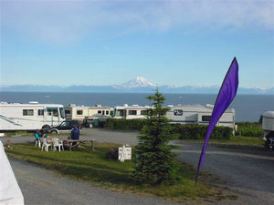 Freshwater Fishing from Scenic View RV Park - Ninilchik AK